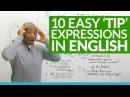 10 TIP Expressions in English