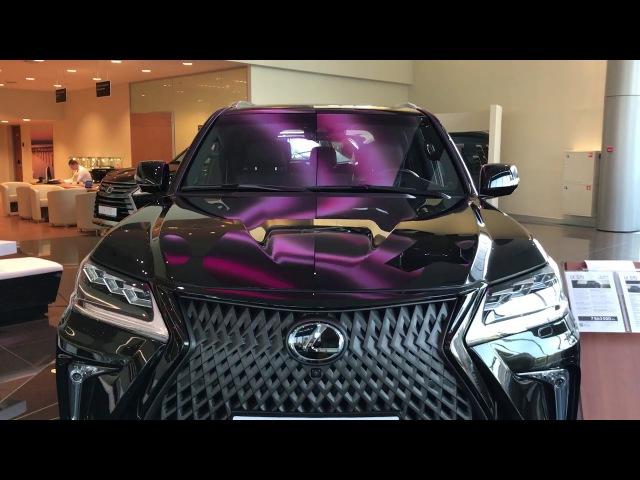 Обзор новый Lexus LX570 в тюнинге KHANN