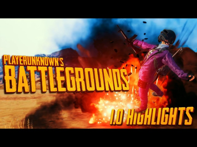 PUBG 1.0 Highlights - Episode 1