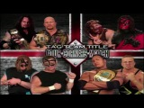 Stone Cold &amp The Undertaker Vs Kane &amp Mankind Vs The Rock &amp D'Lo Brown Vs The New Age Outlaws