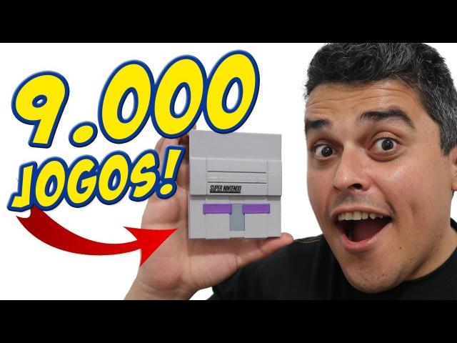 Mini-Consoles com 9.000 Jogos!?
