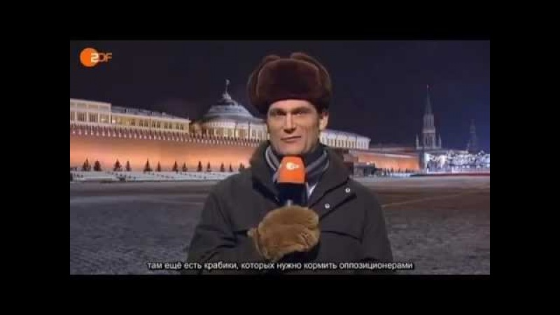 German TV makes fun of Russian elections rigged by Mr Putin