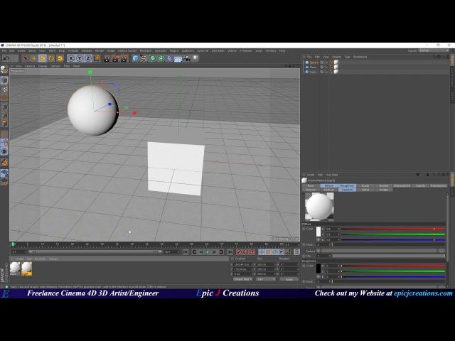 How to make a Mesh light (Light Emitting Object) In Octane For C4D