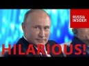 FUNNY: Putin Tells Joke About The Russian Oligarch And His Wife