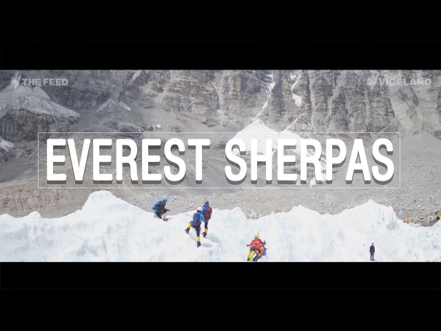 Everest Sherpas 'They're not heroes They're rockstars' The Feed