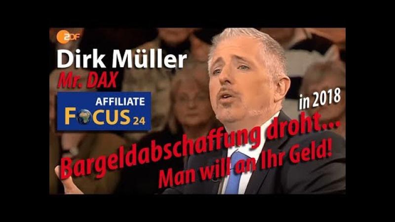 Dirk Müller ► Man will an Ihr Geld! ► Bargeldabschaffung droht ► Meinungsfreiheit Facebook, Youtube