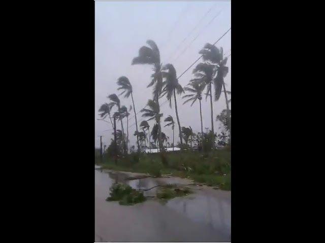Cyclone Gita causes major destruction in Nuku`alofa, Tonga   13 02 2018
