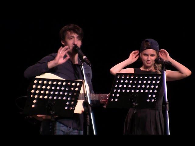 27 Артур Смольянинов и Дарья Мельникова Пони девочек катает Поэтический вечер