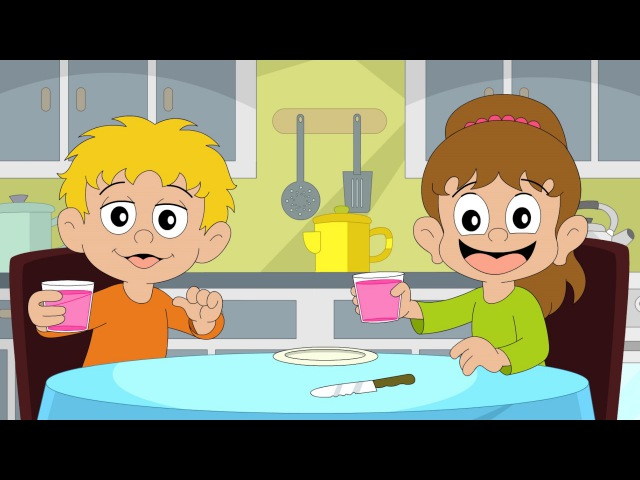 On The Table | children's songs | nursery rhymes | kids dance songs by Minidisco