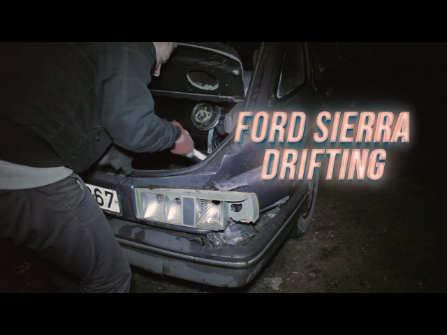 The REAL Winter Beater - Ford Sierra Drifting