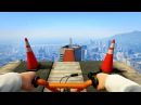 INSANE FIRST PERSON STUNT RACES GTA 5 Funny Moments