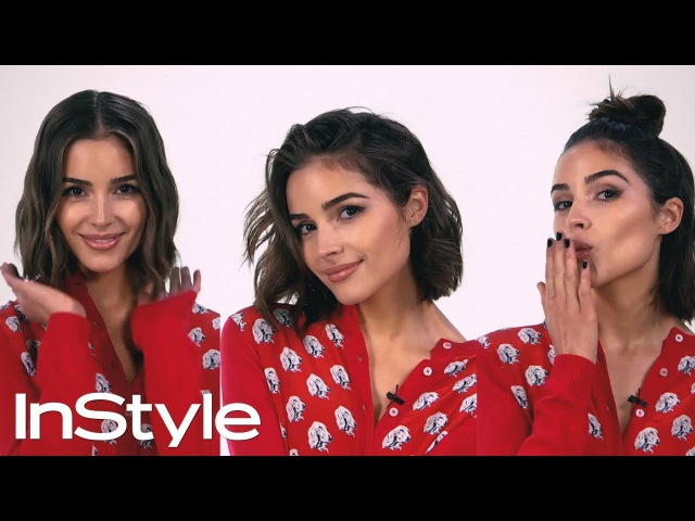 Olivia Culpo and Justine Marjan Show Us 3 Ways to Style A Bob   InStyle