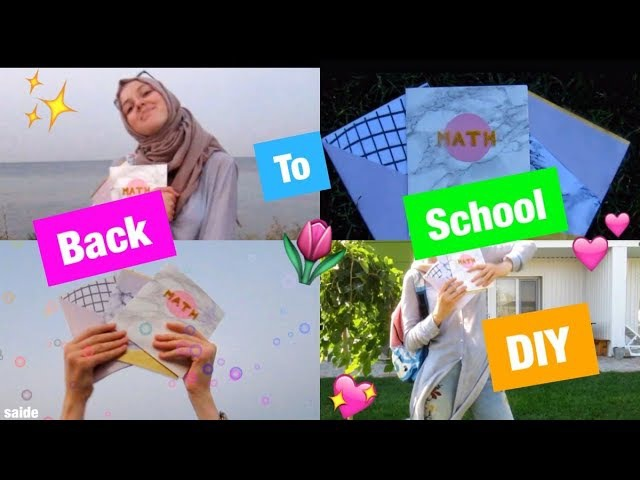 BACK TO SCHOOL DIY / БЭК ТУ СКУЛ ДИАЙВАЙ💖/ ДЕКОР КОНЦЕЛЯРИИ СВОИМИ 💖