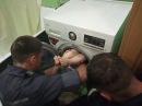 м. Харків: рятувальники звільнили дитину, яка застрягла у пральній машині