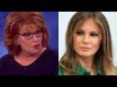 Melania Trump MOCKS Joy Behar On Live TV