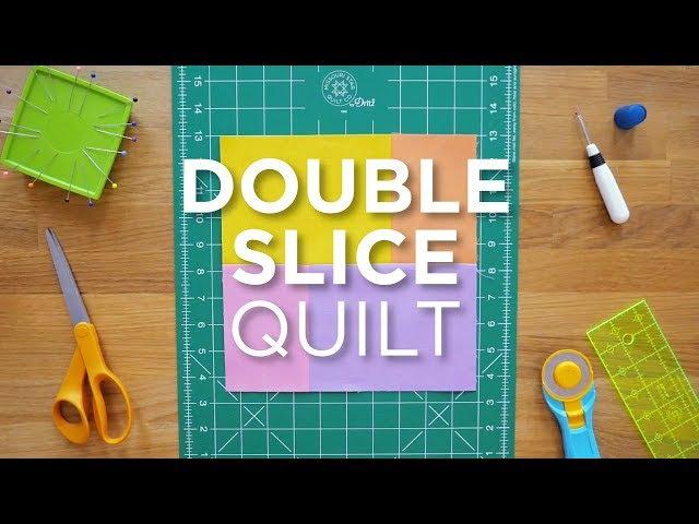 Quilt Snips Mini Tutorial - Double Slice Quilt
