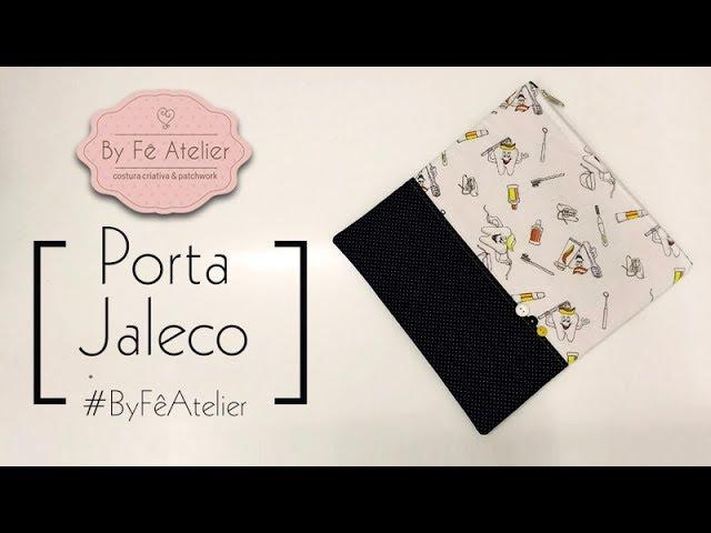 DIY::: Porta Jaleco - By Fê Atelier ( Nível Fácil )