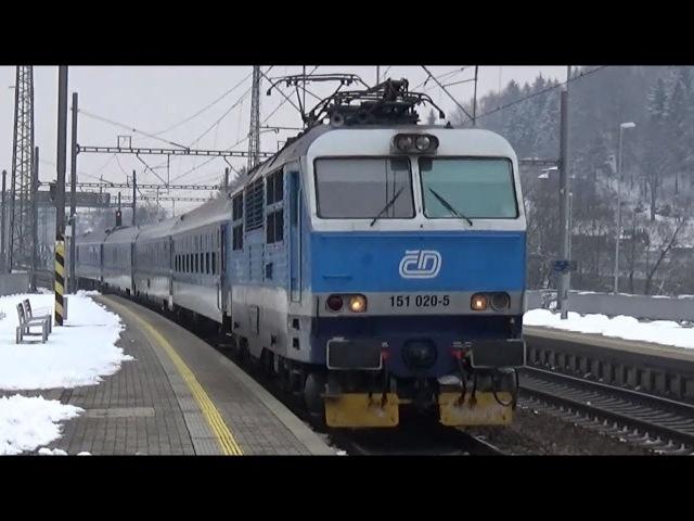 Vlaky Ústí nad Orlicí 8.2.2018