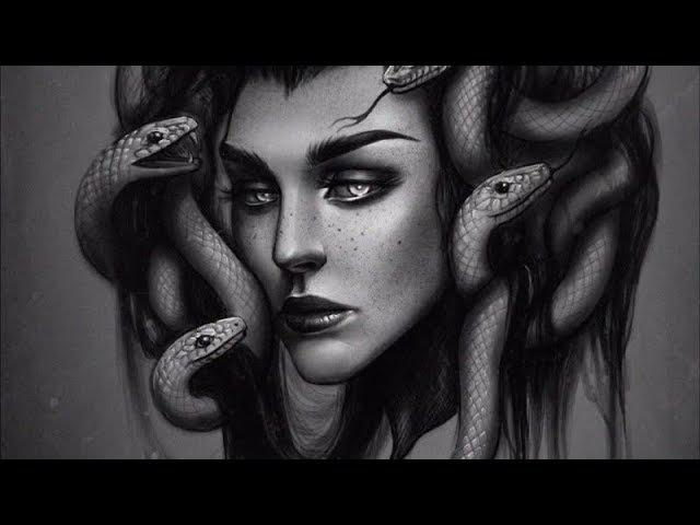 Медуза горгона Medusa Gorgona Illustration Speedpaint [ speedpainting ]
