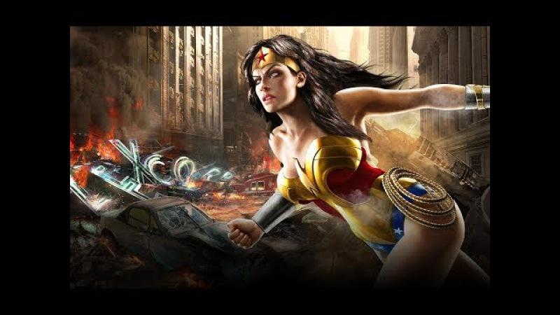 Чудо Женщина против Лиги. Смерть Фонаря и Харли Квин. Месть за Бэтмена.