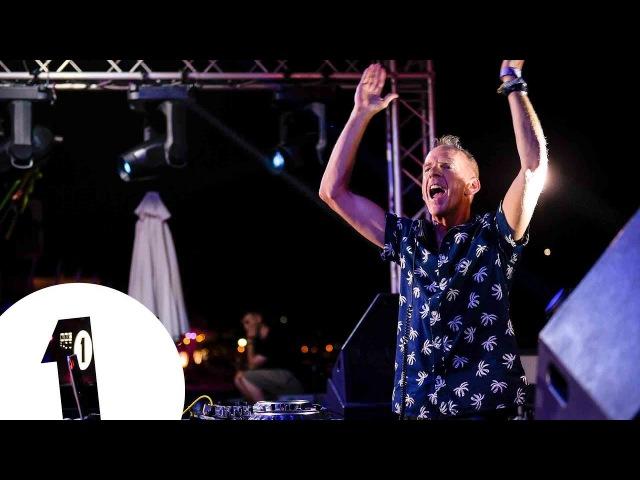 Fatboy Slim live at Café Mambo for Radio 1 in Ibiza 2017