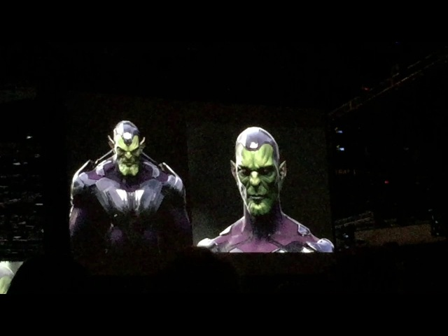 Ant Man and The Wasp/Captain Marvel/The Skrulls @ Comic-Con 2017
