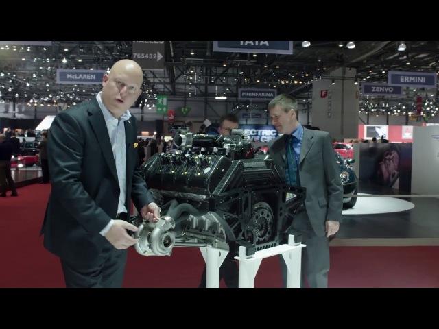 Koenigsegg изнутри: турбина с изменяемой геометрией, распечатанная на 3D-принтере