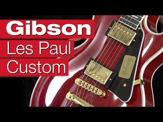 Gibson Les Paul Custom WR E-Gitarren-Review von session
