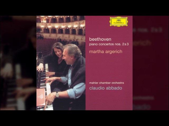 Martha Argerich –Beethoven Piano Concerto No 3 in C minor, Op 37 Claudio Abbado