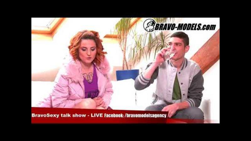 BravoSexy talk show 042017 se Sarah Star host pornoherec Falco