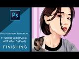 Tutorial Vector/Vexel Art in Photoshop #Part 5 - Finishing