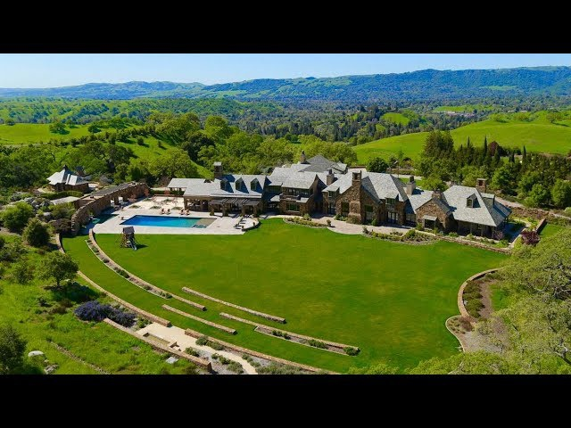 $39 Million North California Mansion Boasts Architectural Sophistication and Elegant Craftsmanship