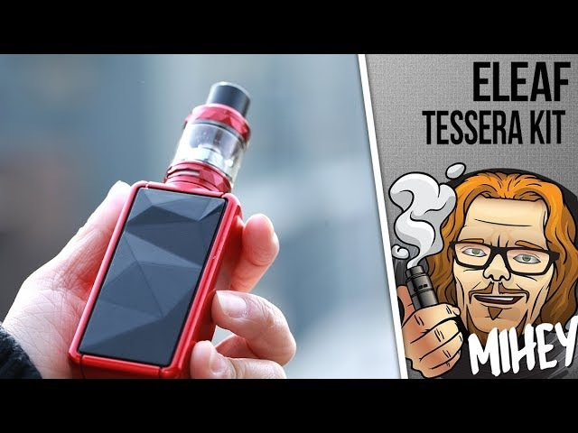 Eleaf Tessera Kit with ELLO TS. Еще один кит. 🎺🎻🎸🎹
