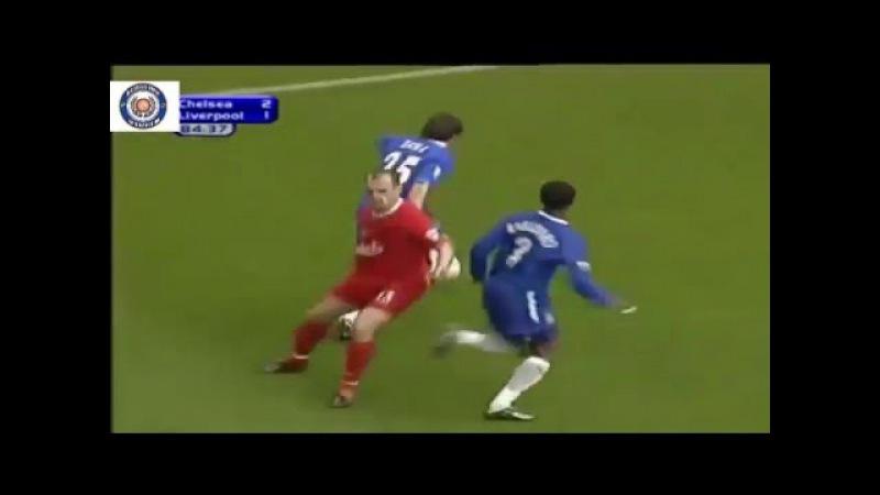 Gianfranco Zola humilhando defesa do Liverpool
