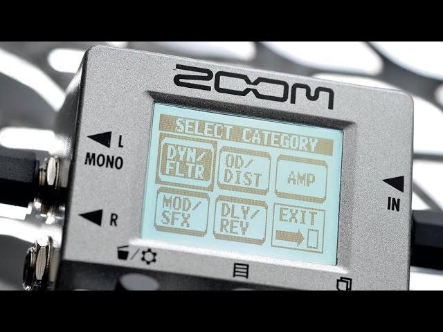 Zoom MultiStomp MS-50g (Modo pedaleira) Parte 2/2