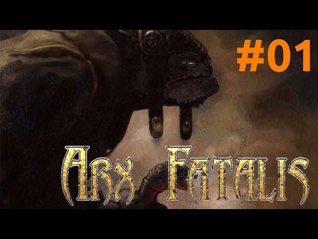 Arx Fatalis(Arx Libertatis) 01: побег из тюрьмы и разрушенная крепость