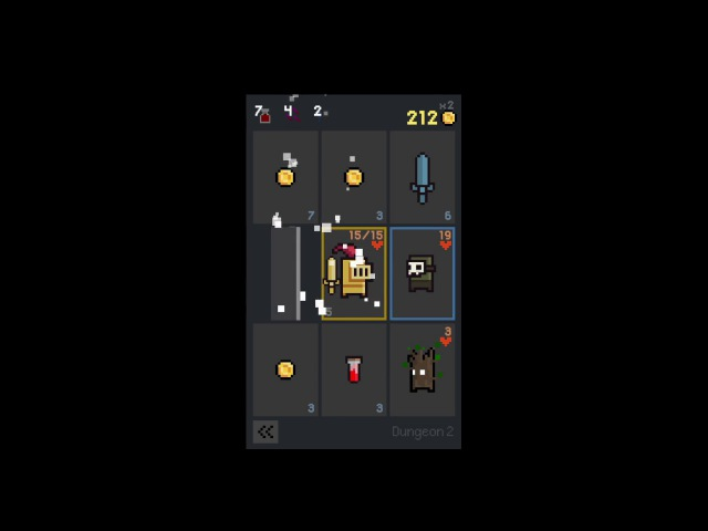 Dungeon Cards gameplay