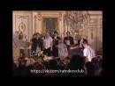 Миндаугас Карбаускис и актеры театра Табакова — вручение премии «Хрустальная Турандот» за лучший спектакль 2006 года, «Рассказ о