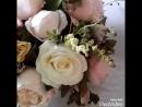 Пионы розы и герберы