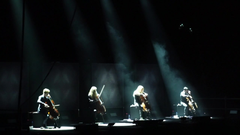 Apocalyptica (Riga 2017) - Master Of Puppets
