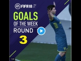 FIFA 18 Goals of the WEEK Round 3 Top 10 Goal #FIFA18 #Top10 GOTW 3 compleet