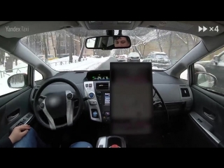 [720] Yandex Self-Driving Car. Moscow streets after a heavy snowfall