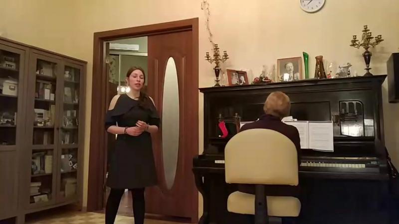 Après un rêve Fauré Gabriel Рождественский домашний концерт