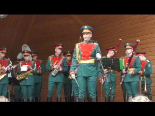 Военные оркестры в парках 2017 - Военный образцовый оркестр Почётного караула