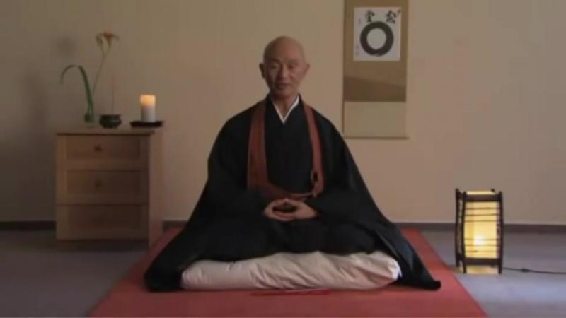 Введение в практику дзадзен, урок медитации - Тайэн Сёдо Харада Роси