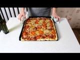 [Рыжая Готовит] Как приготовить пиццу?