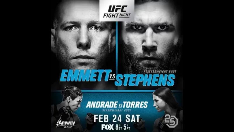 UFCOrlando Andrade vs Torres