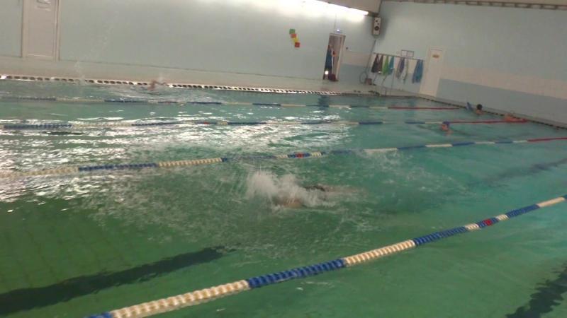 Елизавета Реш., 25 м, дельфин, 128 занятие