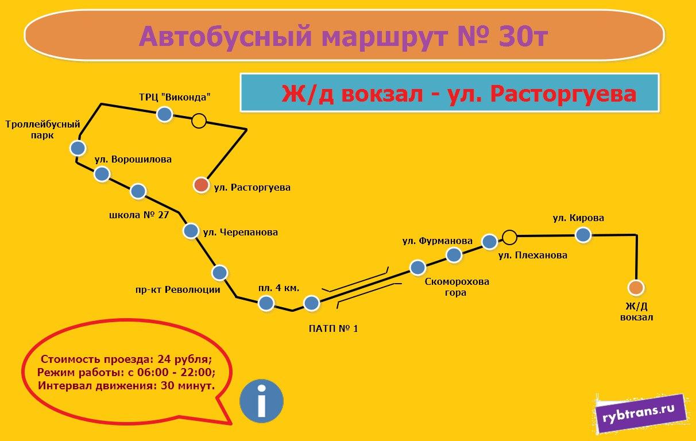 Новый маршрут №30т