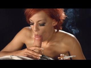Handjob smoking fetish